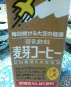 今日の豆乳