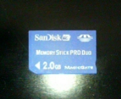メモステ2GB